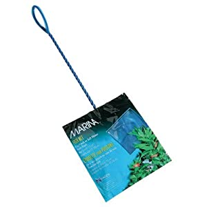 Marina 3-Inch Blue Fine Nylon Net with 10-Inch Handle 3