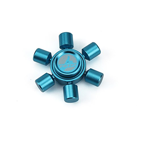 Fidget Spinner, Fidget Toy, Hand Fingertip Spinners for ADHD, Anxiety, PTSD, Stress Reducer and Meditation (Blue)