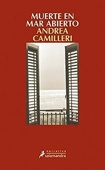 Muerte en mar abierto par Camilleri