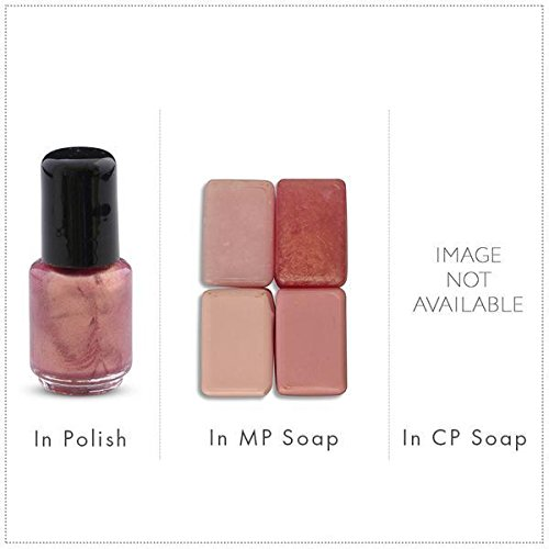 Sparkle Rose/Pink Luxury Mica Colorant Pigment Powder by H&B Oils Center Cosmetic Grade Glitter Eyeshadow Effects for Soap Candle Nail Polish 1 oz