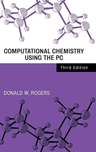 Computational Chemistry Using the PC