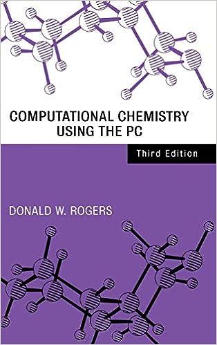 Computational Chemistry Using the PC, Third Edition