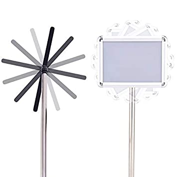Silver A4 Costway A3//A4/regolabile segno display stand Snap telaio pubblicit/à del pavimento