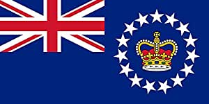 magFlags Large Flag Queen s Representative in the Cook Islands | landscape flag | 1.35m² | 14.5sqft | 80x160cm | 30x60inch - 100% Made in Germany - long lasting outdoor flag