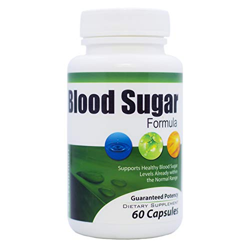 Blood Sugar Control Formula by GL Nutrition | Over 20 All-Natural Ingredients to Lower Glucose Levels | Glucose Balance…
