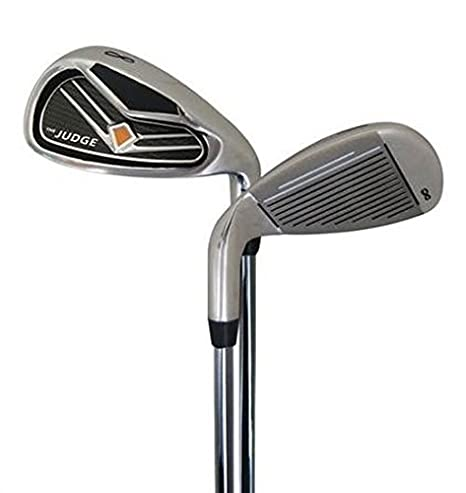 Amazon.com: El juez Mens Set Completo de Golf, Grafito/Acero ...