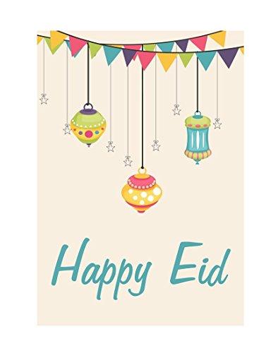 Zaffron Shop Eid Lanterns Party Greeting Cards (10 pack)