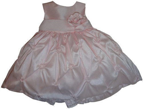 Infant Girl's American Princess by Special Occasions 2 Piece Dress Set Pink Size 12 Months