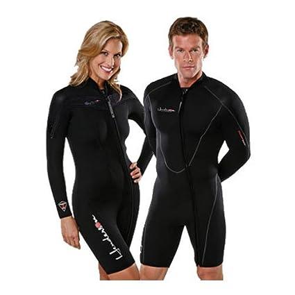 Henderson Man 5mm Thermoprene Long Sleeve Shorty   Jacket (Front Zip) Scuba  Diving Wetsuit c7e650f19297