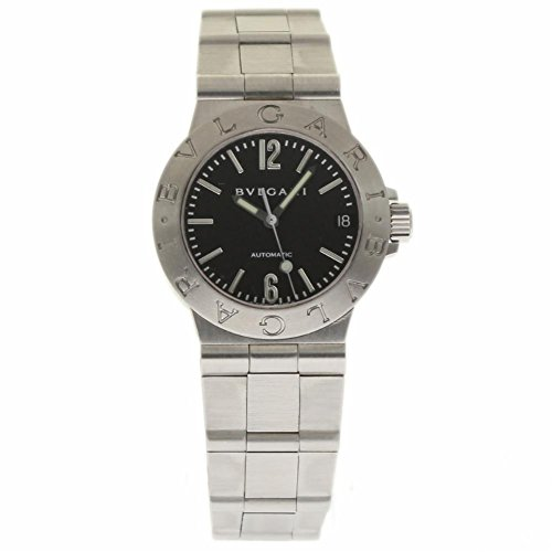 Bvlgari Diagono swiss-automatic womens Watch LCV29S (Certified Pre-owned)