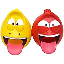 Larva Funny Character Faucet Cover, Safety Faucet Extender For Children Toddler Kids (Red)