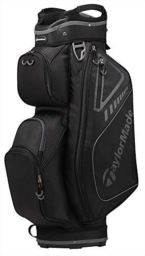 Bag Cart Catalina - TaylorMade 2019 Golf Select Cart Bag, Black/Charcoal
