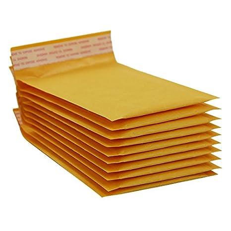 M nulala 10Pack Kraft Bubble Bags Mailers Buste imbottite Buste in carta per spedizione imballaggio spedizione
