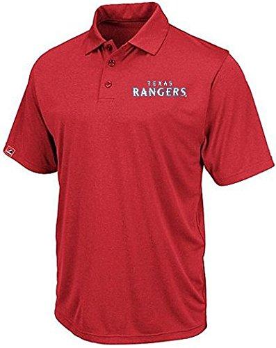特売 Texas Texas Rangers Rangers MLBマジェスティックMJMメンズDri Fitポロシャツレッドビッグ B00QPGLX4K&トールサイズ XXX-Large B00QPGLX4K, はしばみの里ふるフル:eee652a0 --- a0267596.xsph.ru