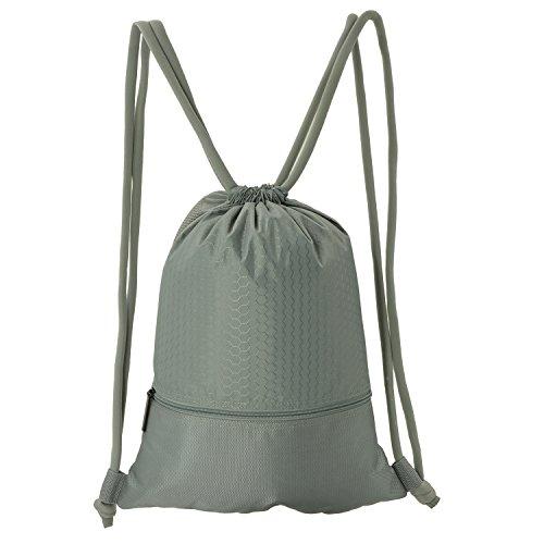 e5e940cbf918 Galleon - WinCret Drawstring Backpack Gym Bags For Men Women Kids -  Waterproof Sackpack Gymsack With Large Zipper Pocket For Basketball,  Travel, ...