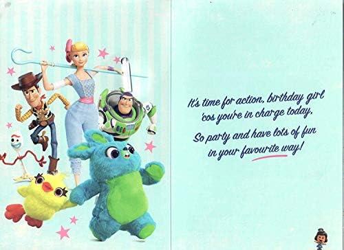 UK Greetings Toy Story 4? ¿Feliz cumpleaños nieta? Tarjeta ...