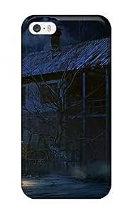Renee Jo Pinson's Shop night building creepy anime haunted buildings dark Anime Pop Culture Hard Plastic iPhone 5/5s cases 3570720K446770730