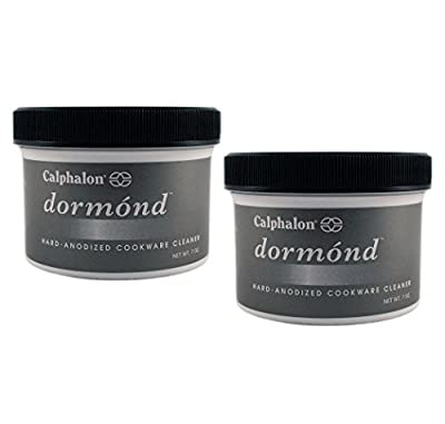 Premium Professional Quality Calphalon Dormond Hard-Anodized Cookware Cleaner 7-Ounces - (Pack of 2)