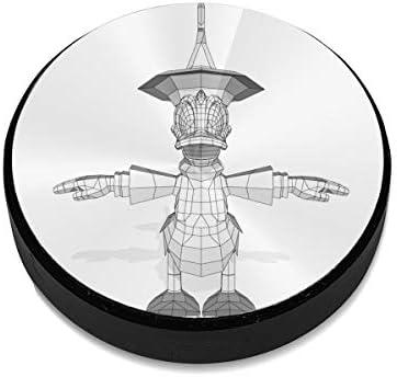 ドナルドダックの建物 車載ホルダー 超強磁力 マグネット式 粘着式 取り付け簡単 高級感 おしゃれ スマホスタンド