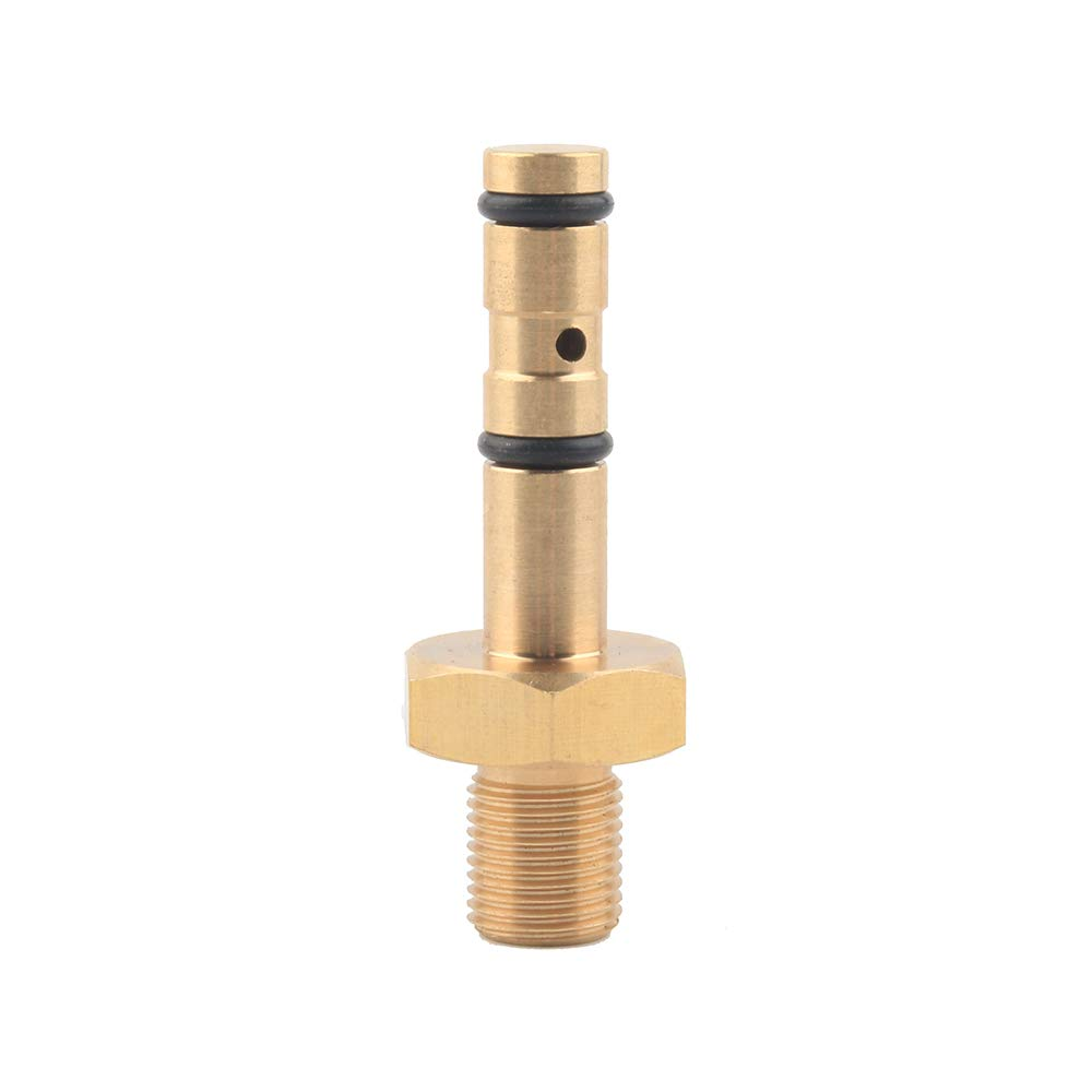 Gurlleu 1/8 BSPP PCP Paintball Fill Probe Replacement Adapter Brass Air Tool Fittings for Hatsan by Gurlleu