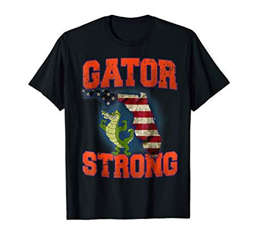 Gator Strong Florida State Gator T-Shirt - Florida Gators 0.25' Gator