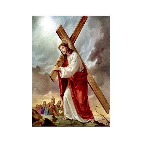 Finance Plan Religious Jesus Cross 5D Diamond Painting DIY Handcrafts Wall Decoration Gift