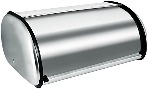 Bread Storage Box - Bread Bin - Bread Storage, Stainless Steel, Great for Personal Use, 16.5 inches x 10 inches x 8 inches ? by Utopia Kitchen