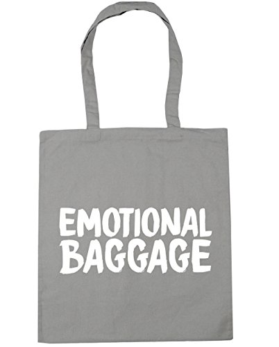 Tote Bag HippoWarehouse Baggage Shopping Light 42cm Beach Gym Emotional x38cm litres Grey 10 qYq6pFHE