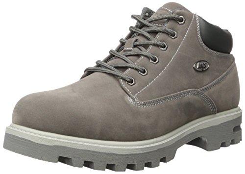 (Lugz Men's Empire WR Fashion Boot, Charcoal/Grey, 11 D US )