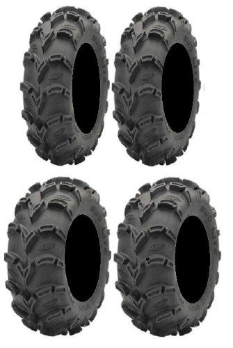 (Full set of ITP Mud Lite XL 28x10-14 and 28x12-14 ATV Tires (4))