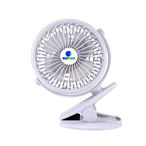 Mini Desk Fan, Glovion Clip-on...