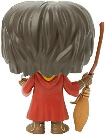 Harry Potter – Quidditch Harry Potter # 08 Funko Pop! Figura de vinilo (incluye funda protectora compatible con Pop Box)