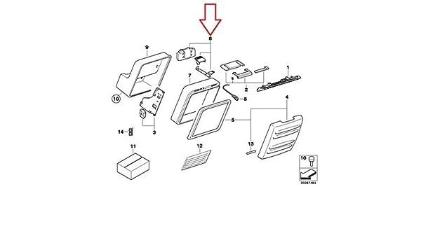 amazon com: bmw genuine top case locking mechanism f650gs f650gs dakar g650gs  g650gs sertao: automotive