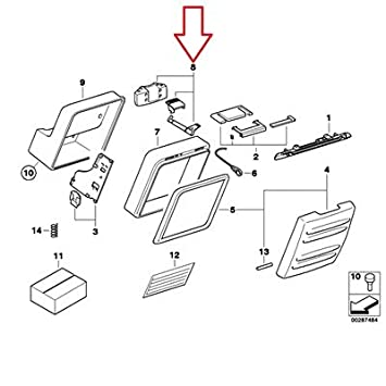 Amazon Com Bmw Genuine Top Case Locking Mechanism F650gs F650gs