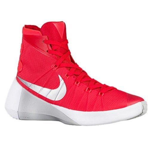 low priced 7e198 8e619 Nike Mens Hyperdunk 2015 TB Basketball Shoes nk749645 605 (university red bright  crimson white silver, 13 M US) - Buy Online in Oman.
