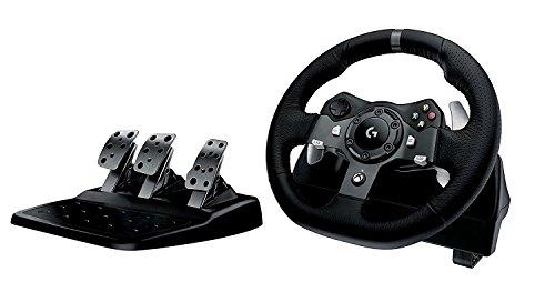 Volante Driving Force G920 para Xbox One/PC, Logitech G, Joysticks e Controles para Computador