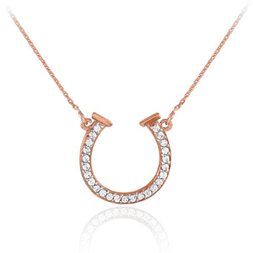 Gold Diamond Horse Charm - 6