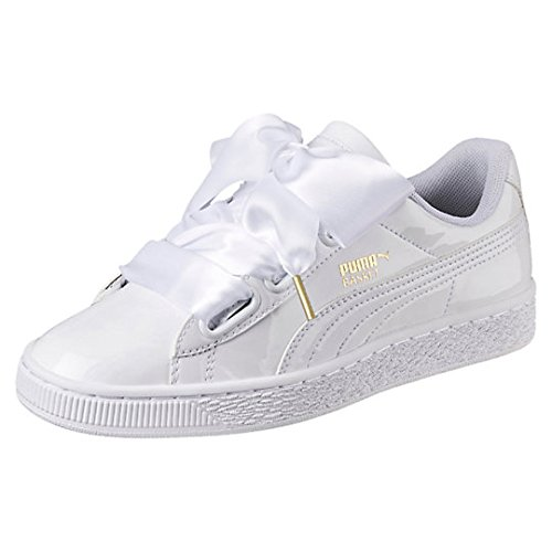 puma basket heart explosive trainers womens (USA 8.5) (UK 6) (EU