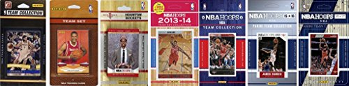 C&I Collectables NBA Houston Rockets Men's 7 Different Licensed Trading Card Team Sets, White from C&I Collectables
