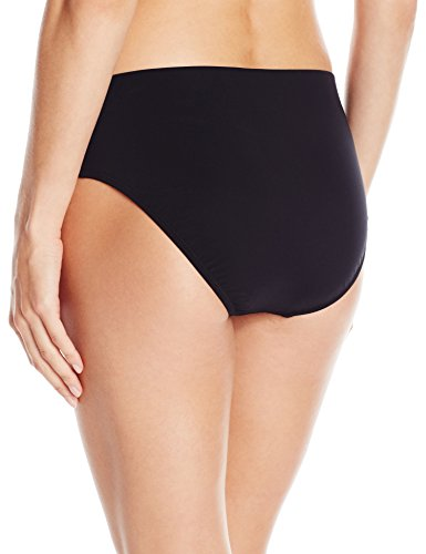 Profile by Gottex Women's Tutti Frutti Seamless Classic Bikini Bottom, Black, 6