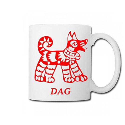 Popular Gift Choice|Costome the Chinese zodiac mug|personalized baby mug-dog