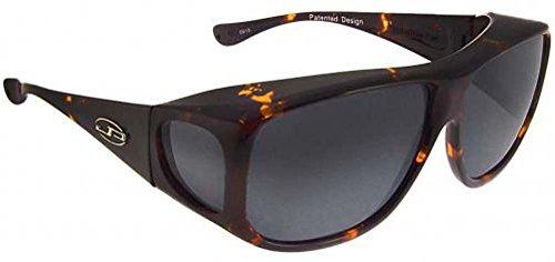 94f70f6a053 Jonathan Paul Fitover Aviator Polarized Sunglasses (Tortoiseshell