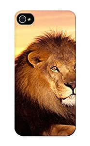 Awesome MbnHoFU2411RoIkH Trinalgrate Defender Tpu Hard Case Cover For Iphone 5/5s- Lionwidescreen