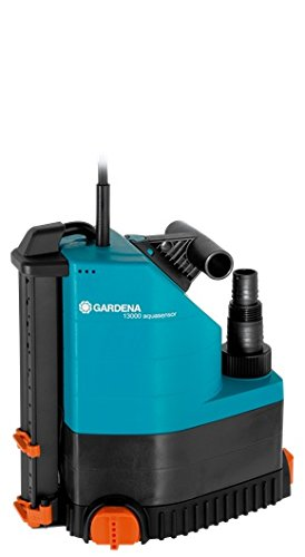 Gardena 1785-20 Comfort 13000 Aquasensor Pompa Sommersa, Portata 13.000 L H, 650 W, Pompa di Prosciugamento con Sensore, con Attacco Universale