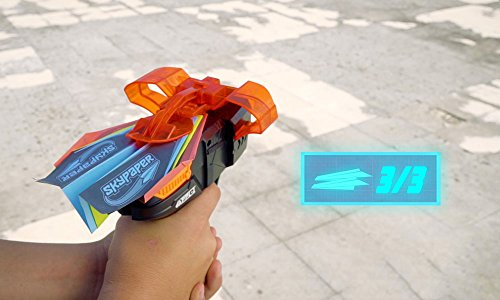 SkyPaper Paper Plane Launcher - Stealth Black by The Bridge Direct (Image #5)