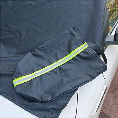 Resistente a la Nieve Giytoo Funda Protectora para Parasol de Coche 215cmx125cm Beige