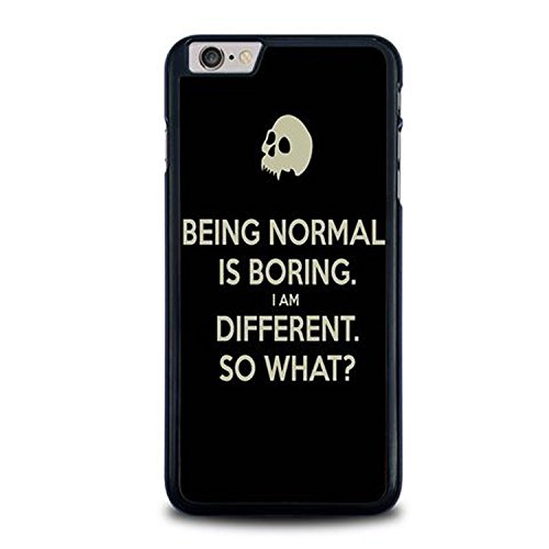 Coque,Normal Is Boring Quotes Case Cover For Coque iphone 6 / Coque iphone 6s