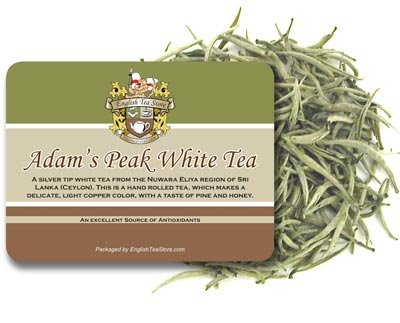 Adams Peak White Tea - Loose Leaf - 8oz by Darlene's Tea Port (Image #1)