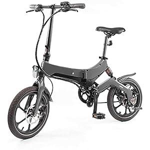 411oc13FEqL. SS300 JXH 16 Pollici Pieghevole Bici elettrica, con Grande capacità Rimovibile agli ioni di Litio (36V 250W), per Outdoor…