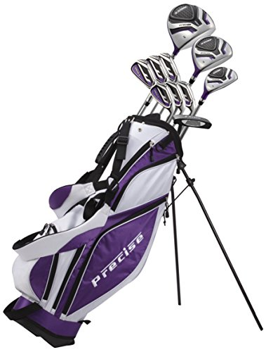 Precise Premium Women's Tall Complete Set, MDX II Ladies, Right Hand, Purple Review